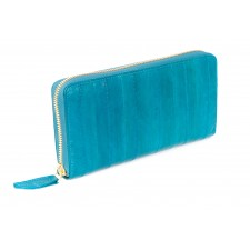 Large Zip Wallet- Teal