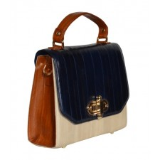 The Liberte Navy, Cream & Tan